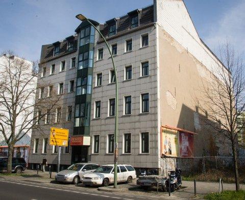 In dieses Ex-Hostel sollen die Flüchtlinge ziehen.<br />  Foto: Theo Schneider