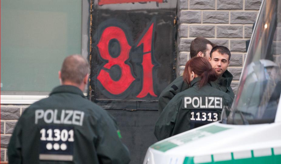 De tyske myndigheder har lukket Hells Angels klubhus i Berlin. Foto: Theo Schneider / Demotix