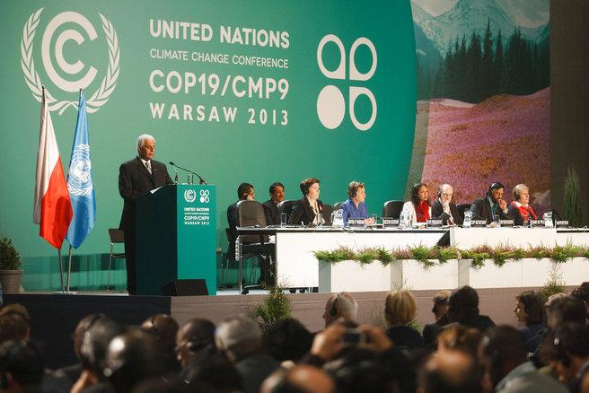 Spørgsmålet om de manglende klimapenge bliver et af de vigtige temaer i de kommende to ugers forhandlinger ved klimatopmødet i Warszawa. foto: Theo Schneider / Demotix/Scanpix Denmark