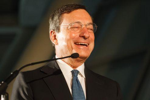 Très critiqué outre-Rhin, l'italien Mario Draghi s'est plié à un exercice inhabituel.<br /> Crédits photo : Theo Schneider / Demotix/Theo Schneider / Demotix