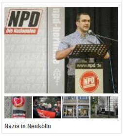 Nazis in Neukölln. Fotos: Theo Schneider