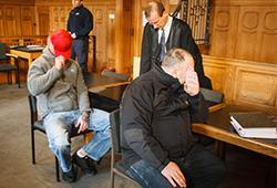Berliner Neonazis müssen sich vor dem Landgericht verantworten; Photo: T.Sch.