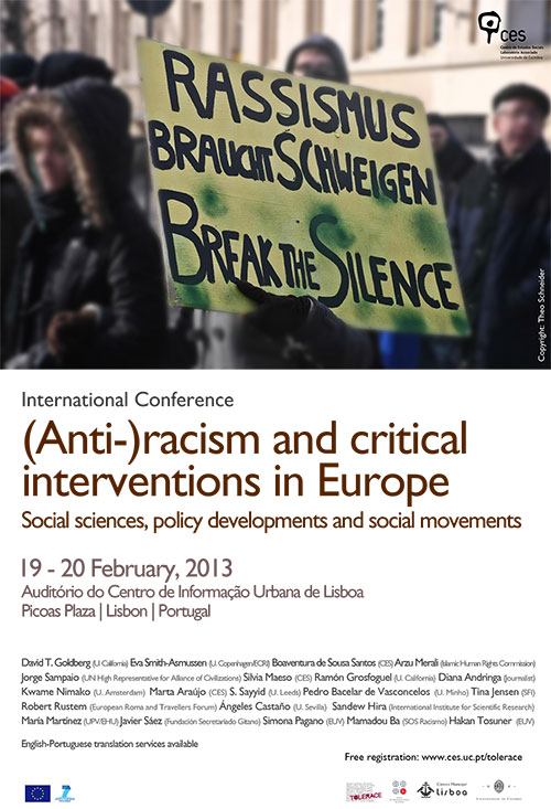 Tolerace Conference Poster, Photo: Theo Schneider