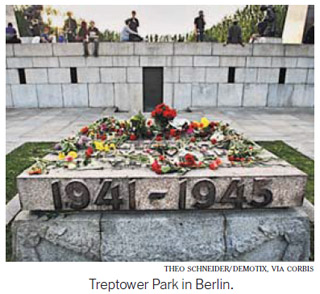 Treptower Park in Berlin. Theo Schneider / Demotix. Via Corbis