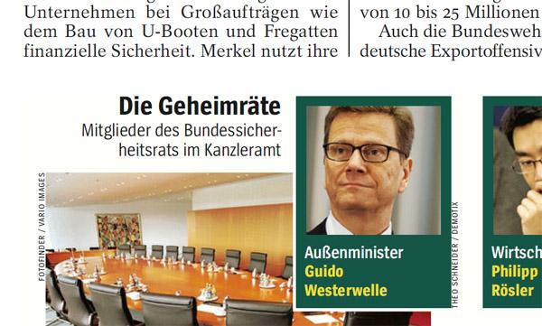 Außenminister Guido Westerwelle. Foto: Theo Schneider / Demotix